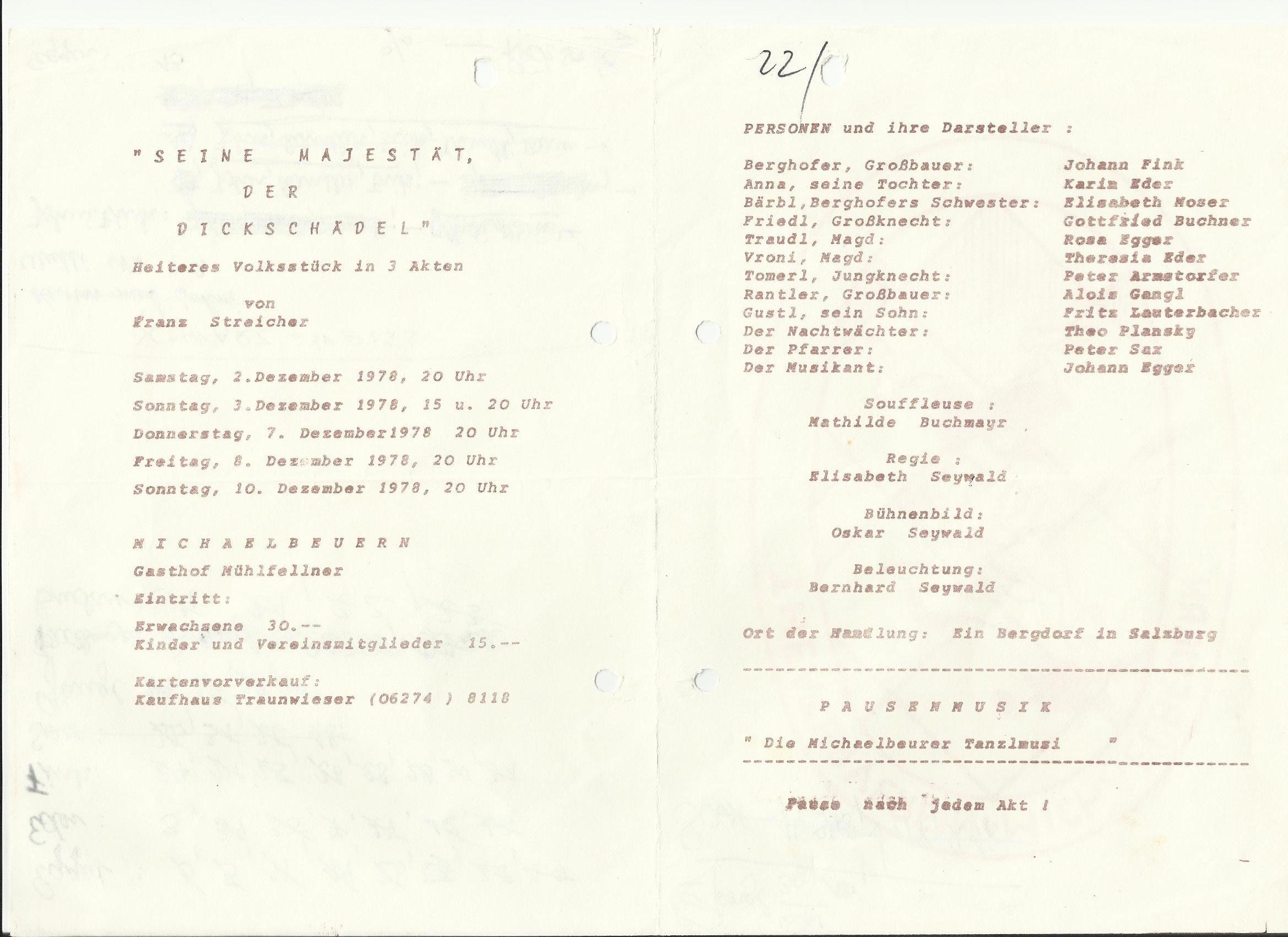 TV 1978 Seine Majestät der Dickschädel0001