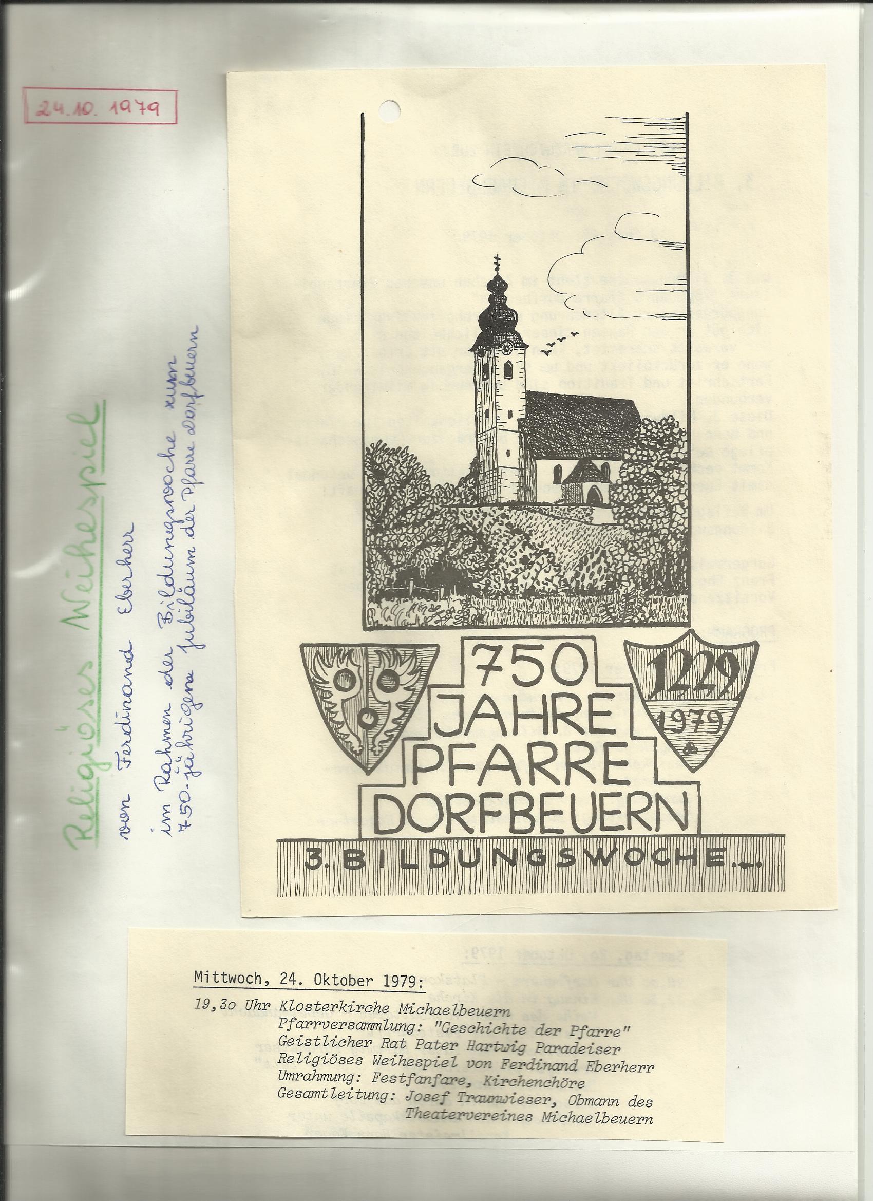 TV 1979 Weihespiel 750 Jahr Jubiläum0001