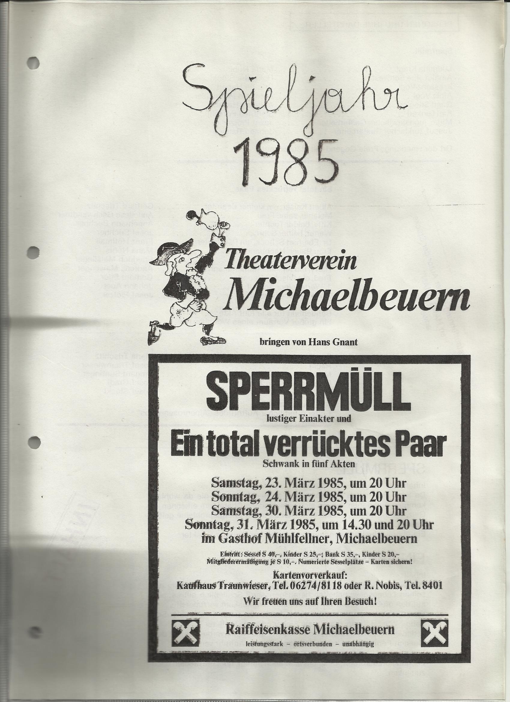 TV 1985 Spermull und Ein to tal verrücktes Paar0001