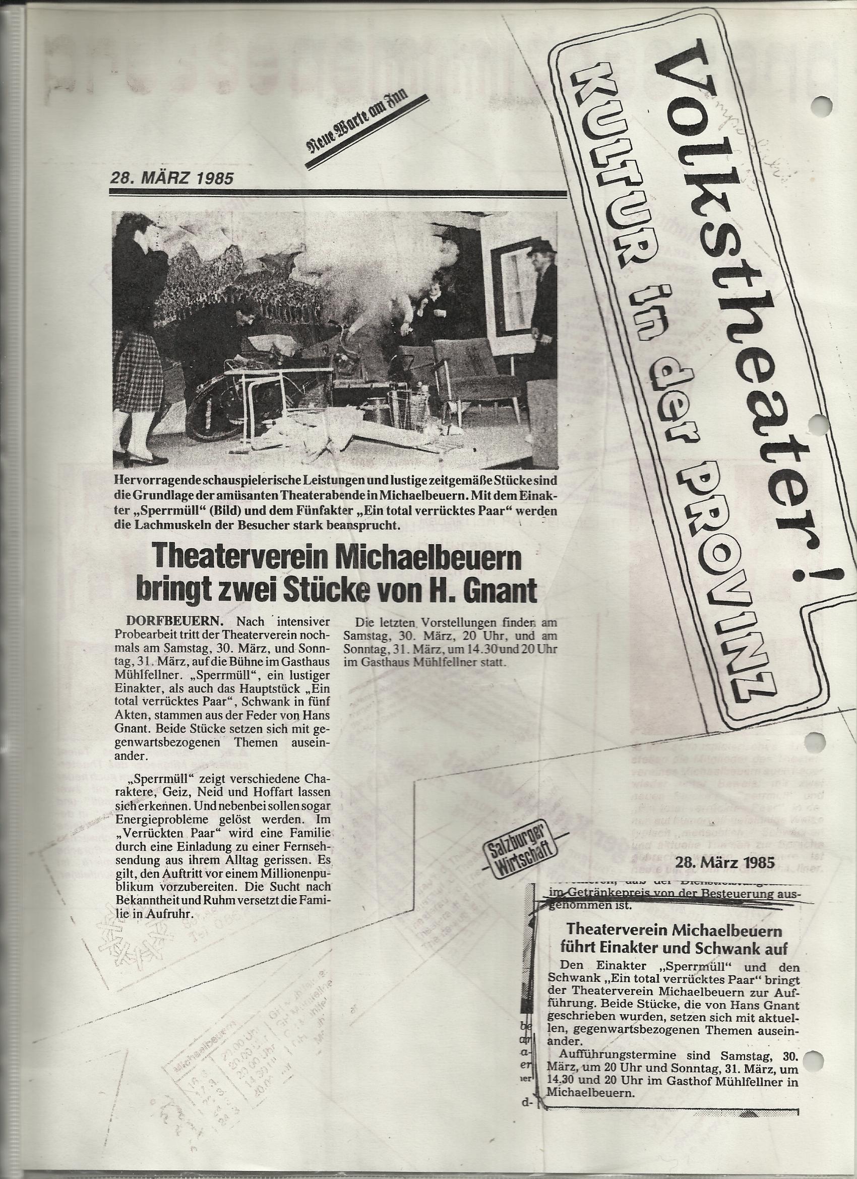 TV 1985 Spermull und Ein to tal verrücktes Paar0003