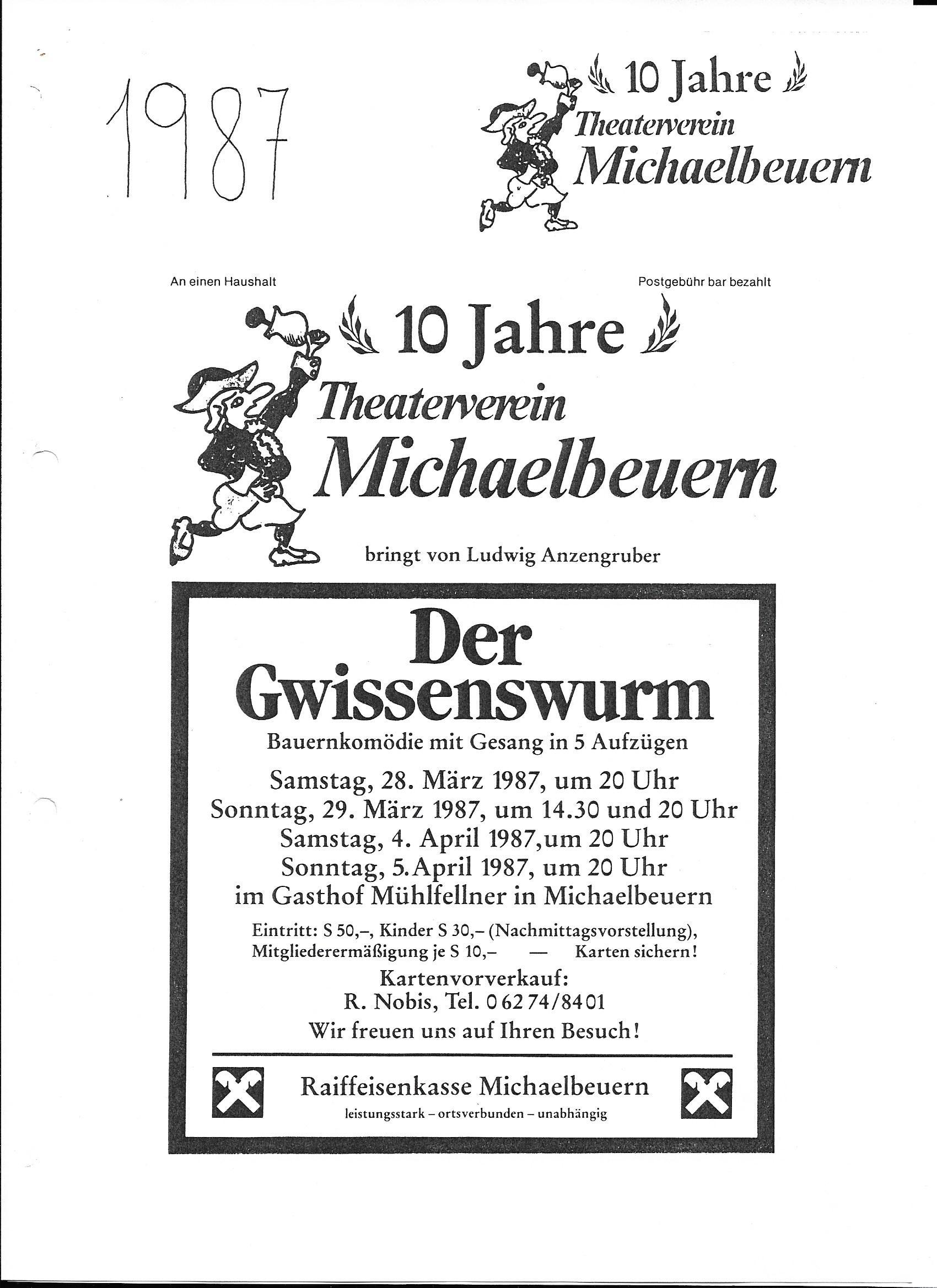 Der Gwissenswurm - 1